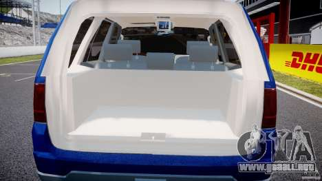 Lincoln Navigator 2004 para GTA 4 vista desde abajo