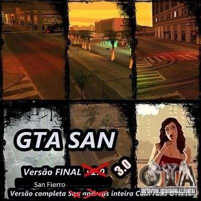 Todas Ruas v3.0 (San Fierro) para GTA San Andreas