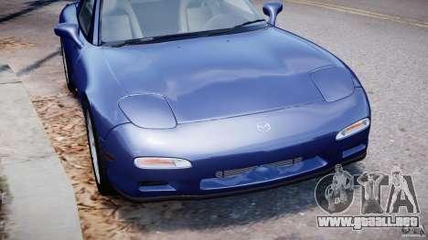Mazda RX-7 1997 v1.0 [EPM] para GTA 4 vista desde abajo