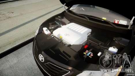 Toyota Camry 2007 (XV40) v1.0 para GTA 4 vista hacia atrás