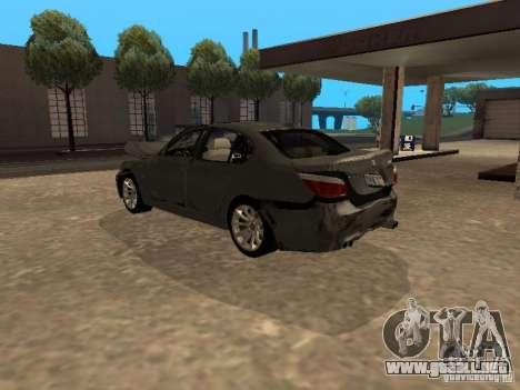BMW M5 E60 2009 v2 para el motor de GTA San Andreas