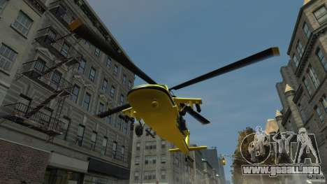 Yellow Annihilator para GTA 4 vista interior