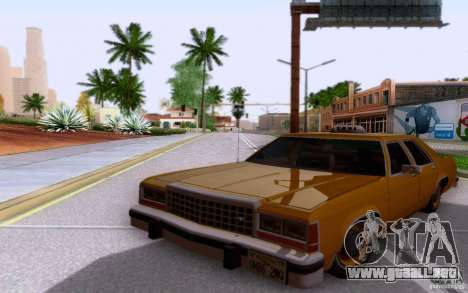 Ford Crown  Victoria LTD 1985 taxi para GTA San Andreas