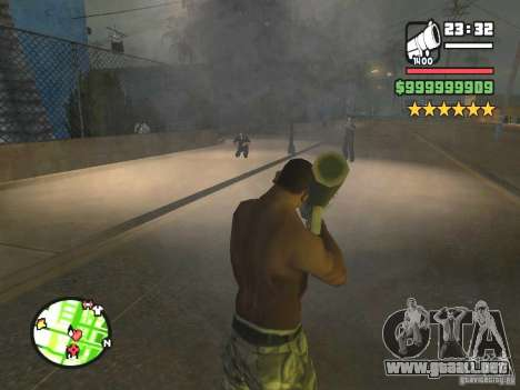 Un paro real para GTA San Andreas segunda pantalla
