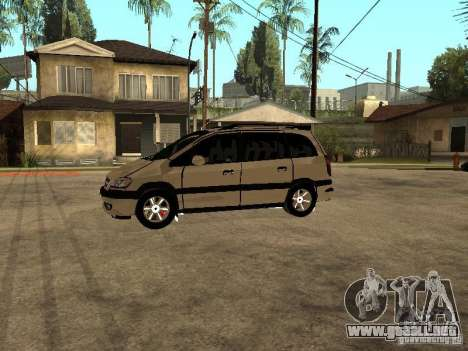 Opel Zafira para GTA San Andreas left