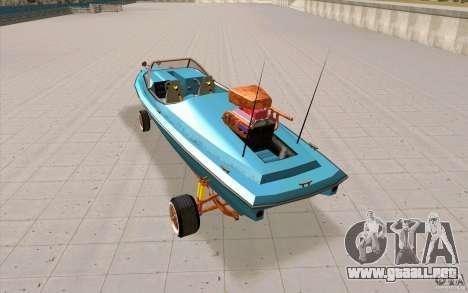 Hot-Boat-Rot para GTA San Andreas vista posterior izquierda