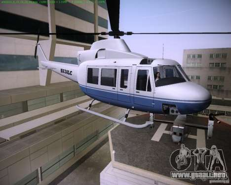 HD Maverick para GTA Vice City left