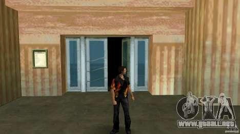 Señor fuego con pantalones vaqueros čërnimi para GTA Vice City