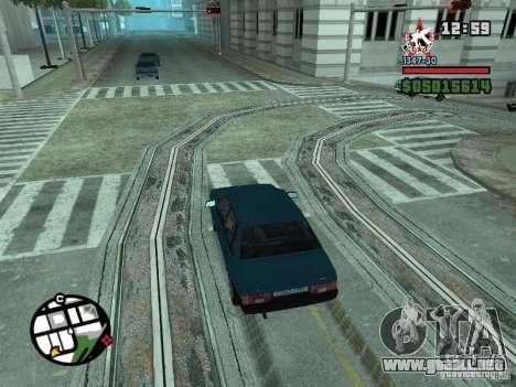 Todas Ruas v3.0 (San Fierro) para GTA San Andreas octavo de pantalla