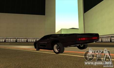 Dodge M4S Turbo Interceptor Wraith 1984 para la visión correcta GTA San Andreas