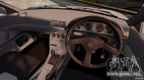 Nissan Skyline GT-R (BNR32) para GTA 4 vista hacia atrás
