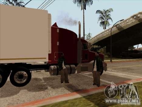 Peterbilt 377 para la visión correcta GTA San Andreas