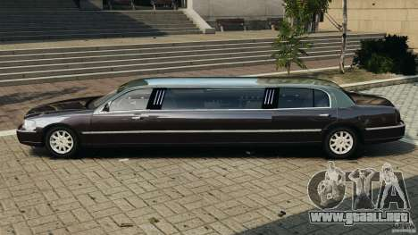 Lincoln Town Car Limousine 2006 para GTA 4 left