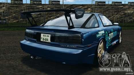 Toyota Supra 3.0 Turbo MK3 1992 v1.0 para GTA 4 Vista posterior izquierda