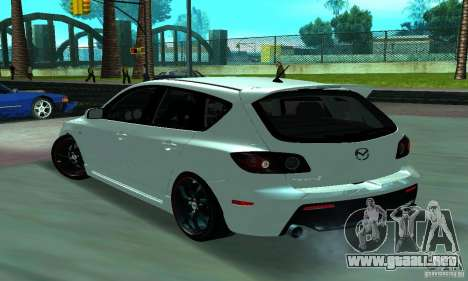 Mazda Speed 3 para GTA San Andreas left