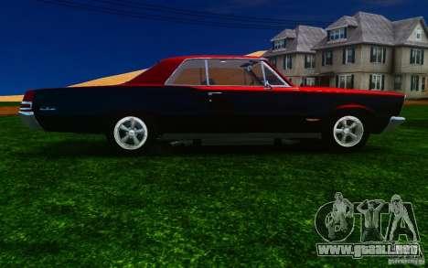 Pontiac GTO 1965 FINAL para GTA 4 vista interior