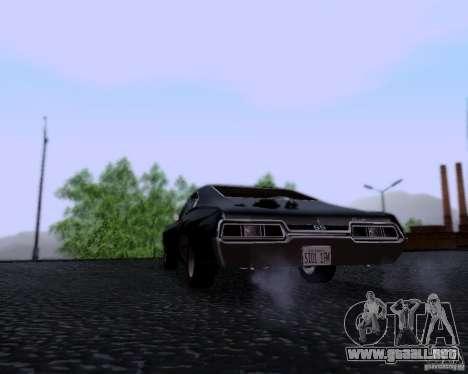 Super Natural ENBSeries para GTA San Andreas tercera pantalla