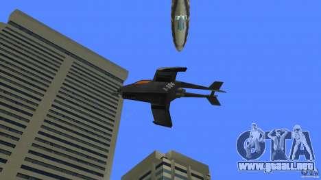 X-304 Gunship para GTA Vice City visión correcta