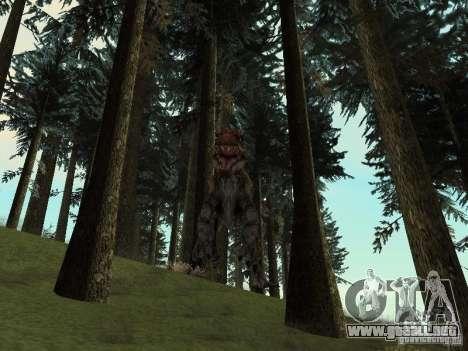 Dinosaurs Attack mod para GTA San Andreas décimo de pantalla