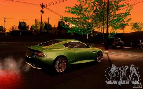 Aston Martin Virage V1.0 para visión interna GTA San Andreas