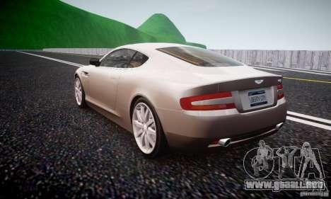 Aston Martin DB9 2005 V 1.5 para GTA 4 Vista posterior izquierda