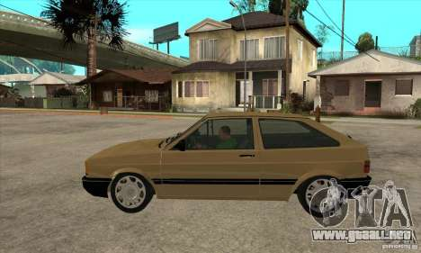VW Gol GL 1.8 1989 para GTA San Andreas left