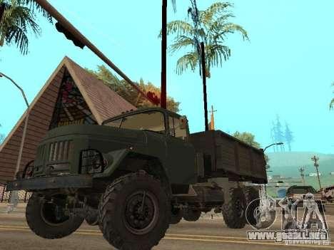 ZIL 131 camión para GTA San Andreas interior