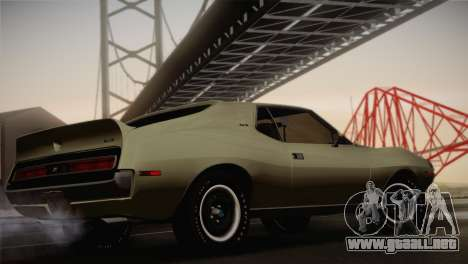 AMC Javelin AMX 401 1971 para GTA San Andreas left