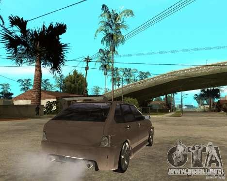 LiquiMoly Vaz 21093 para GTA San Andreas vista posterior izquierda
