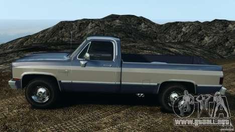Chevrolet Silverado 1986 para GTA 4 left
