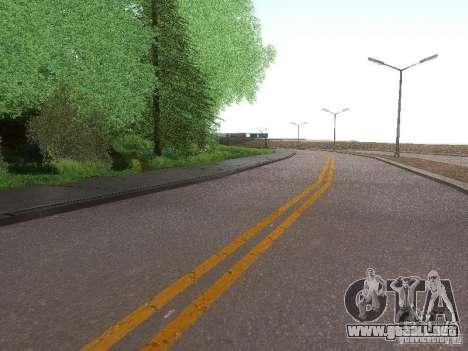 Modification Of The Road para GTA San Andreas