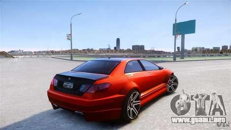 Schafter2 Sedan para GTA 4 Vista posterior izquierda