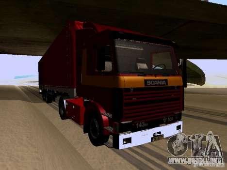 Scania 143M para GTA San Andreas left