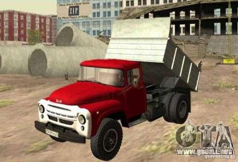 MMZ ZIL 130 4502 para GTA San Andreas