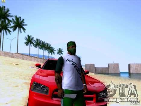 Machete from Far Cry 3 para GTA San Andreas segunda pantalla