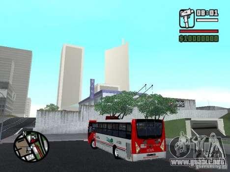 Caio Millennium TroleBus para GTA San Andreas left