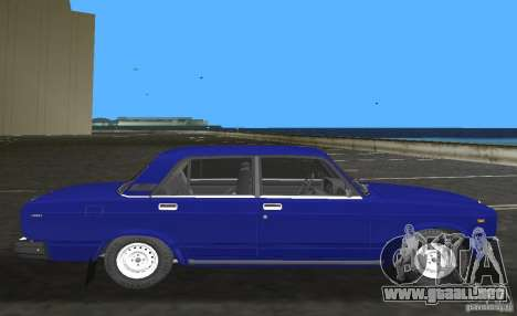 Auto LADA VAZ 2107 para GTA Vice City left
