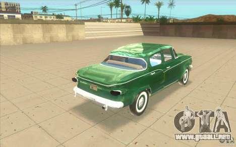 Studebaker Lark 1959 para GTA San Andreas vista posterior izquierda