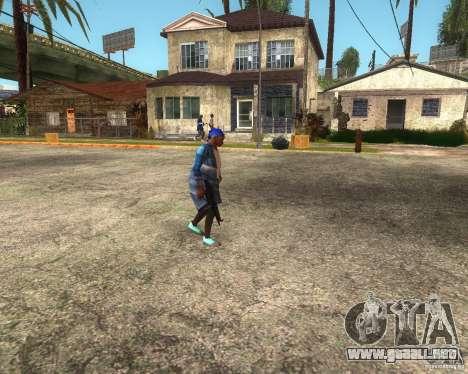 Gangsta Granny para GTA San Andreas quinta pantalla