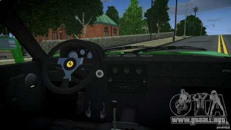Ferrari 288 GTO EPM para GTA 4 visión correcta