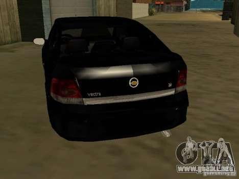 Chevrolet Vectra Elite 2.0 para GTA San Andreas vista posterior izquierda