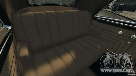 Packard Eight Police 1948 para GTA 4 vista lateral