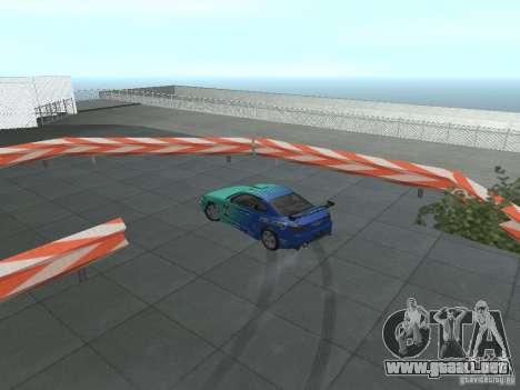 New Drift Track SF para GTA San Andreas octavo de pantalla