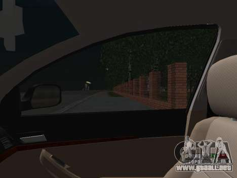 Toyota Avensis DPS para vista inferior GTA San Andreas