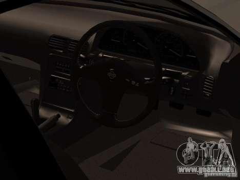 Nissan Silvia PS13 para GTA San Andreas vista hacia atrás