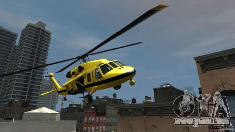 Yellow Annihilator para GTA 4 vista hacia atrás