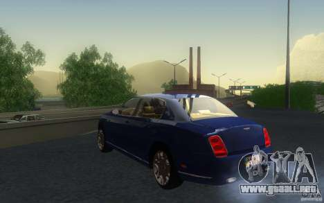 Bentley Continental Flying Spur para visión interna GTA San Andreas