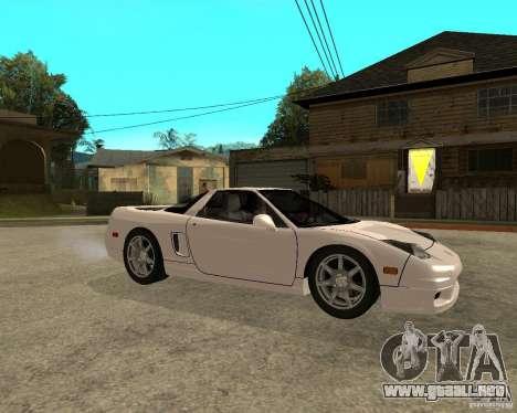Acura/Honda NSX para la visión correcta GTA San Andreas