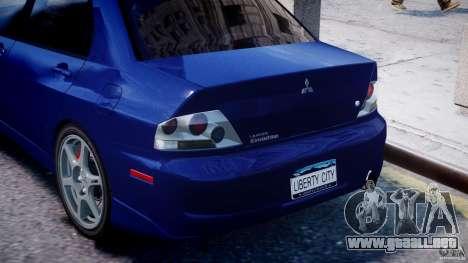 Mitsubishi Lancer Evolution VIII para GTA motor 4