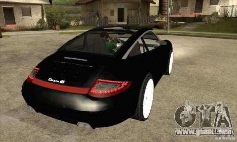 Porsche 911 Targa 4 para la visión correcta GTA San Andreas